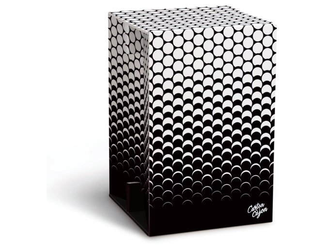 CAJON - BLACK & WHITE DOTS